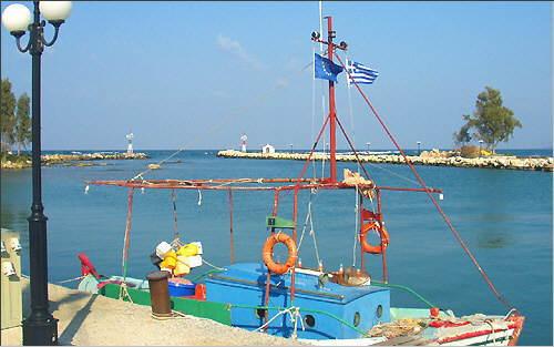 Georgioupolis: Am Hafen